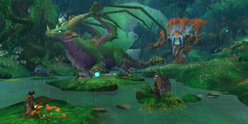 Der Spieler, Malfurion und Ysera versuchen ein Heilmittel zu finden um Cenarius vor dem smaragdgr?nen Albtraum zu retten.